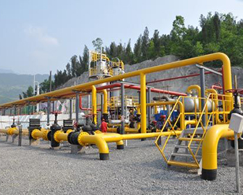 For natural gas gathering and transportation station