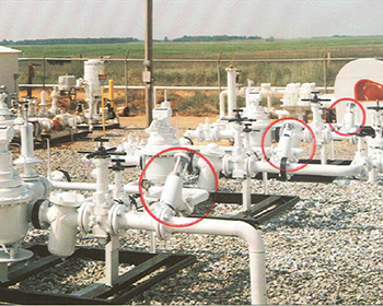 Used in crude oil and refined oil pipeline pump station